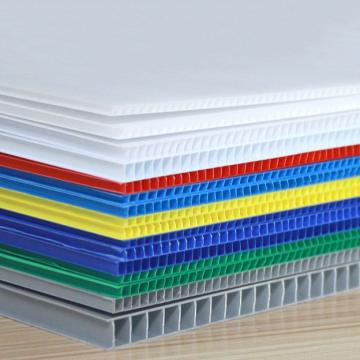Eco-Friendly PP Plastic Board/PP Corrugated Plastic Board/PP Hollow Sheet