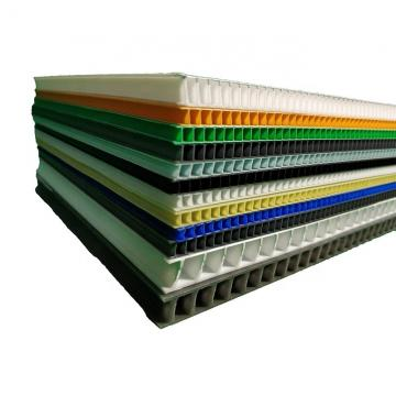 Core Flute Board 3mm 450gsm Blue Yellow Red Color Corrugated Plastic Hollow Eco-friendly Recyclable Pp Correx Sheet