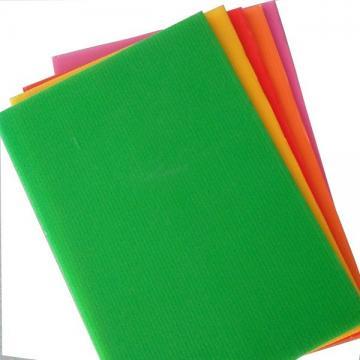 2019 Customized colourful Polypropylene Corrugated Hollow Board
