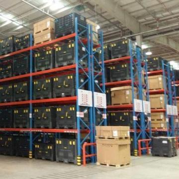 Heavy duty storage textiles fabrics warehouse foldable stackable metal textile pallet