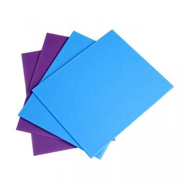 Hot Sale Colored PVC Hollow Sheet