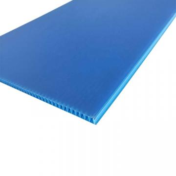 Green Blue Grey Polypropylene PP Hollow Board for Separation, Protection /Plastic Protection Board in Box 3mm 4mm 5mm