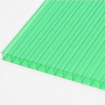 Aoci Clear/Blue-green Plastic Sheet Polycarbonate Hollow Sheet