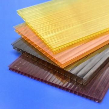 polycarbonate sheet for daylight roofing in 100% virgin material of Bayer