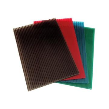 ASA-PVC Co-Extruded Hollow Outdoor Wood Plastic Composite WPC Decking Sheet