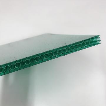 2.3*2.5m/1.5*2.3m Anti-Static Plain Stripe Printed White Polycarbonate Sun Hollow Sheet