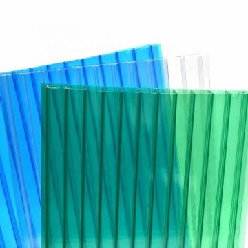 Free Sample Quanfu Polycarbonate Twinwall Hollow PC Sheets for Greenhouse