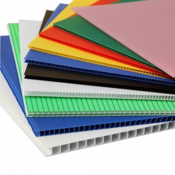 Hot Sale Colored PVC Hollow Sheet