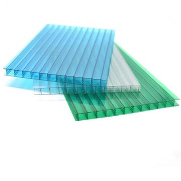 Plastic Building Roofing Material Polycarbonate 2 Wall PC Sunshine Hollow Sheet