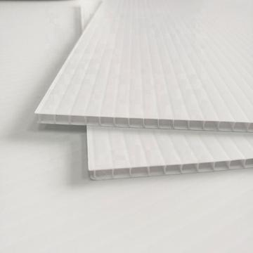 Coroplast Transparent PP Corrugated Hollow Sheet