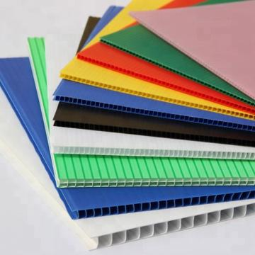 Free Sample Environmentally Friendly PP Materials Hollow Packaging Board /Sheet