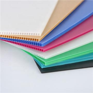 Factory Wholesale Price Plastic Packaging Box PP Corrugated Hollow Board Sheet