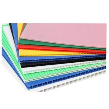 Color PP Corrugated Sheet PP Hollow Sheet Coroplast Sheet