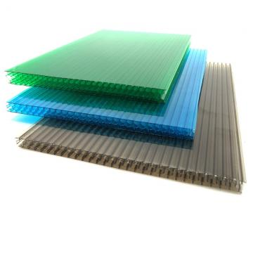 Plastic Sheets Clear Polycarbonate Hollow Sheet for Skylight