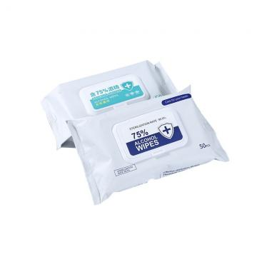 OEM 160ct Antibacterial 75% Alcohol Wipes