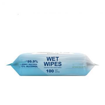 Custom 99% 75% Isopropyl Alcohol Pad Clean Wet Wipe