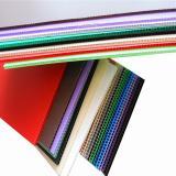 Orange Plastic Polycarbonate PC Hollow Sheet for Decoration